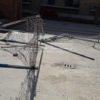 LICOLA/ Baby gang distrugge le porte di calcetto dei bambini nella piazzetta di Licola Mare