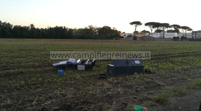 VARCATURO/ Slot machine scassinate e abbandonate tra le campagne|FOTO