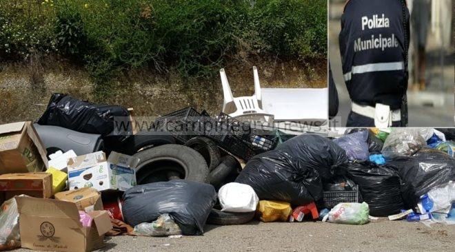 VARCATURO/ Sversano rifiuti speciali nelle campagne: denunciate 5 persone