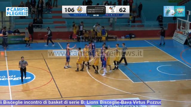 Basket, la Virtus non entra in partita e soffre dal primo all'ultimo minuto a Bisceglie