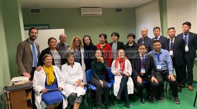 POZZUOLI/ Dalla Cina al Santa Maria delle Grazie per conoscere le tecnologie dell'ospedale puteolano