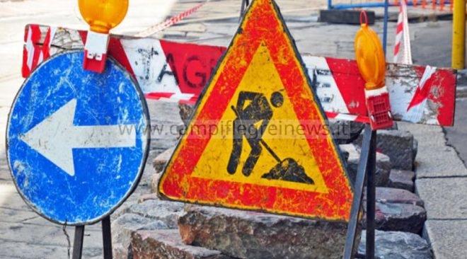 POZZUOLI/ Caos e traffico previsti dal 5 al 7 novembre per lavori al Corso Terracciano, istituito senso unico alternato