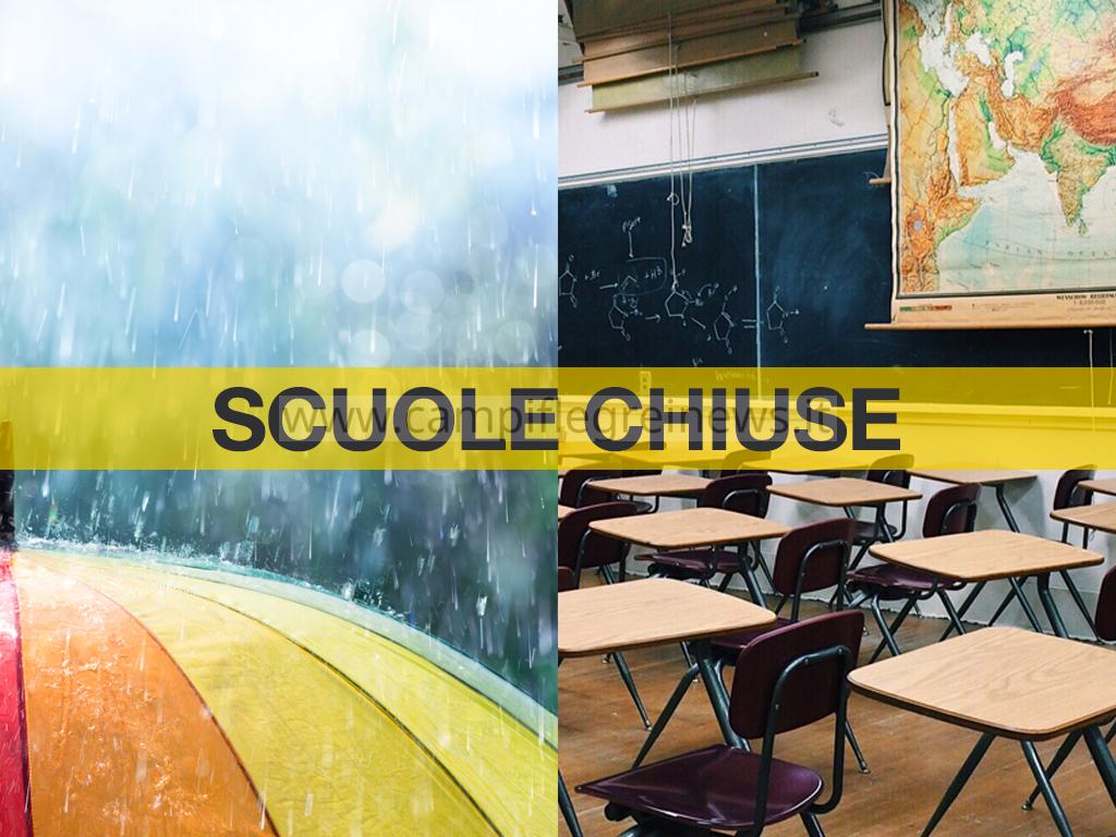 BACOLI/ Il sindaco chiude le scuole domani per allerta meteo