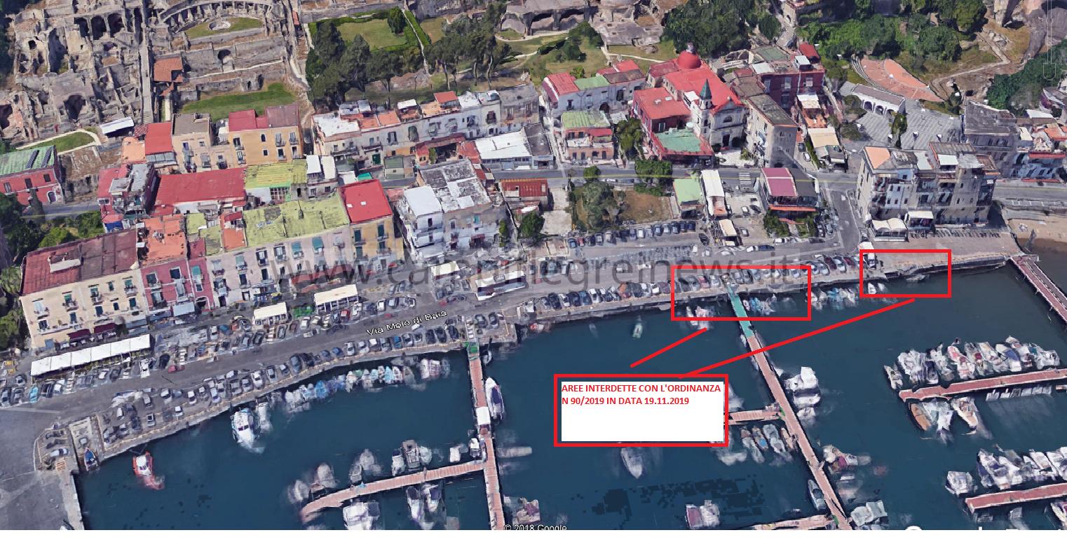 BAIA/ Porto danneggiato dalle mareggiate, interdette alcune zone della banchina