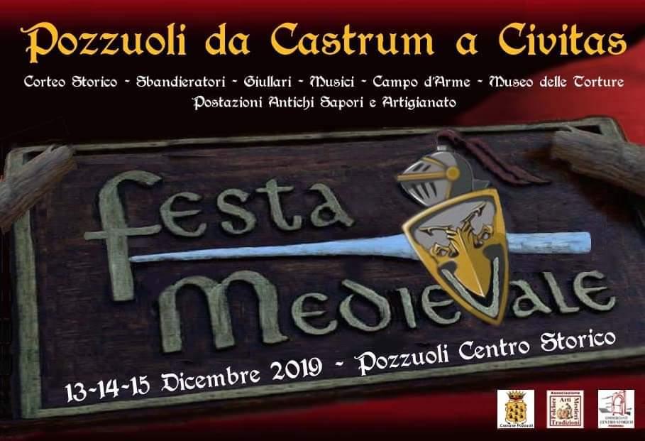 """Pozzuoli, una Festa Medievale per ricordare l'evoluzione della città in """"civitas"""""""