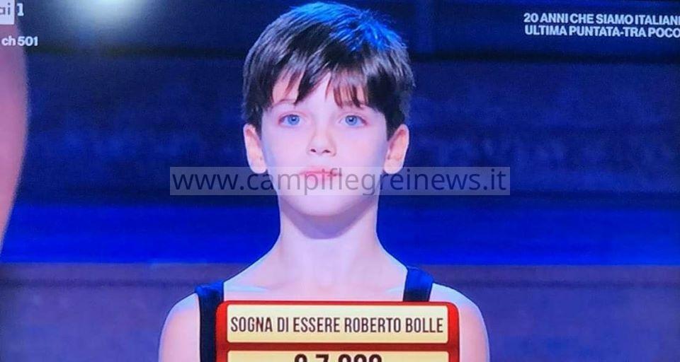 """Il piccolo Mathias da Bacoli ai """"Soliti Ignoti"""" su Raiuno dove ha mostrato il suo talento di ballerino - LE FOTO"""