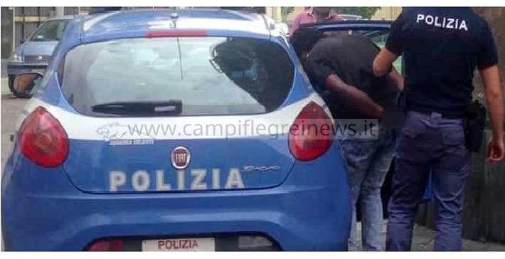 GIUGLIANO/ Clandestino nigeriano arrestato dalla Polizia per aggressione