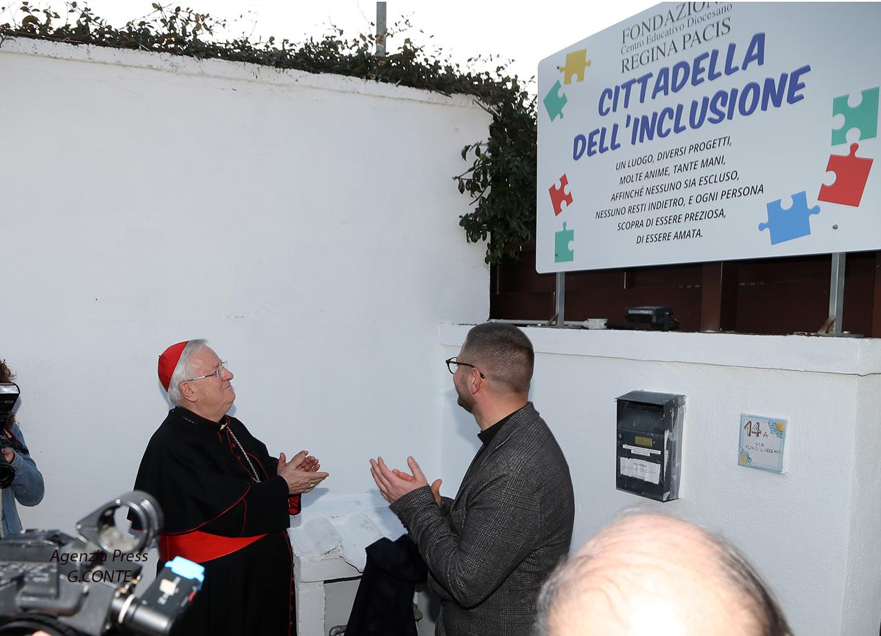 """Inaugurata la Cittadella dell'inclusione: """"Daremo speranza ai giovani e alle persone in difficoltà"""" - LE FOTO"""