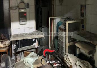 VARCATURO/ Pane prodotto bruciando mobili, colle e vernici: denunciato un 56enne