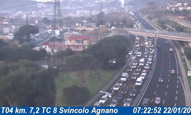 ULTIMORA/ Spaventoso incidente sulla Tangenziale ad Agnano, 2 km di coda