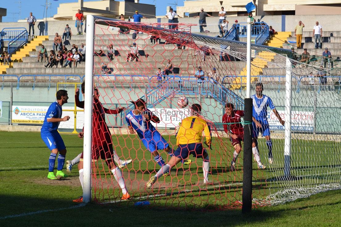 """Puteolana, al """"Fanuzzi"""" arriva il 4° ko in trasferta: vince il Brindisi 3-1!"""