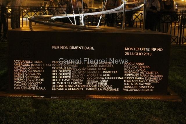 """Vittime di Monteforte, un anno dopo un monumento per non dimenticare ed una """"Piazza del Ricordo"""""""