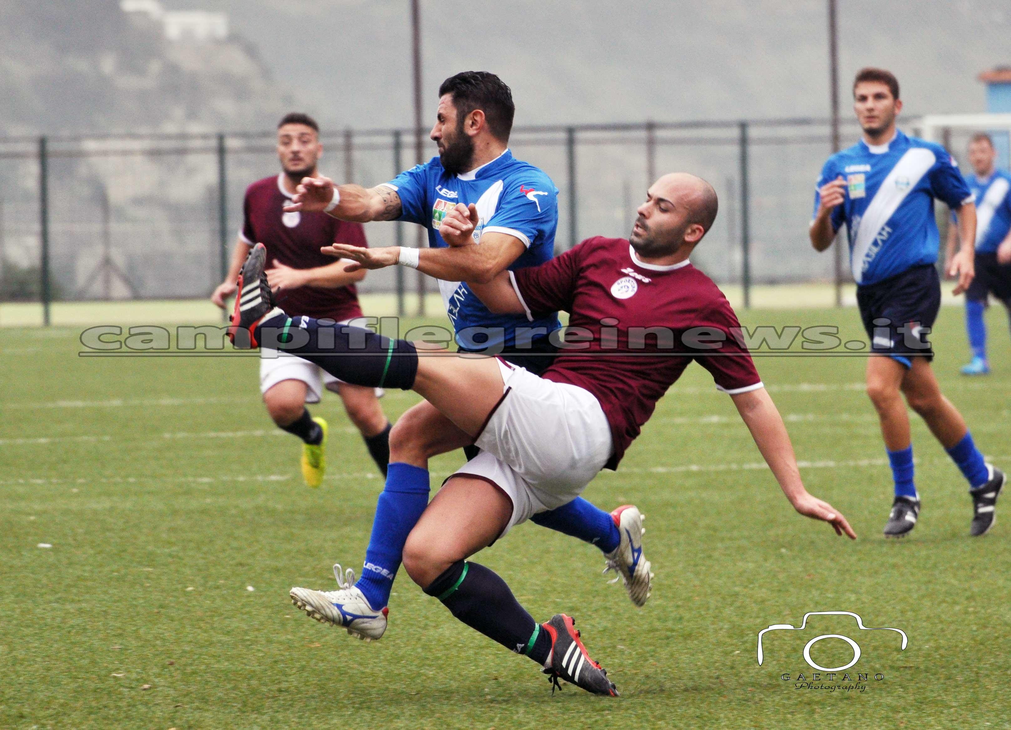 Pro calcio Bacoli, nulla da fare contro il Nola Soccer