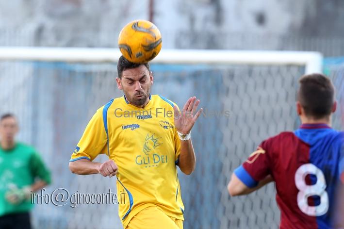 Rione Terra Calcio, esordio felice per Sicuranza. A Casalnuovo 1-0 grazie a Ginestra